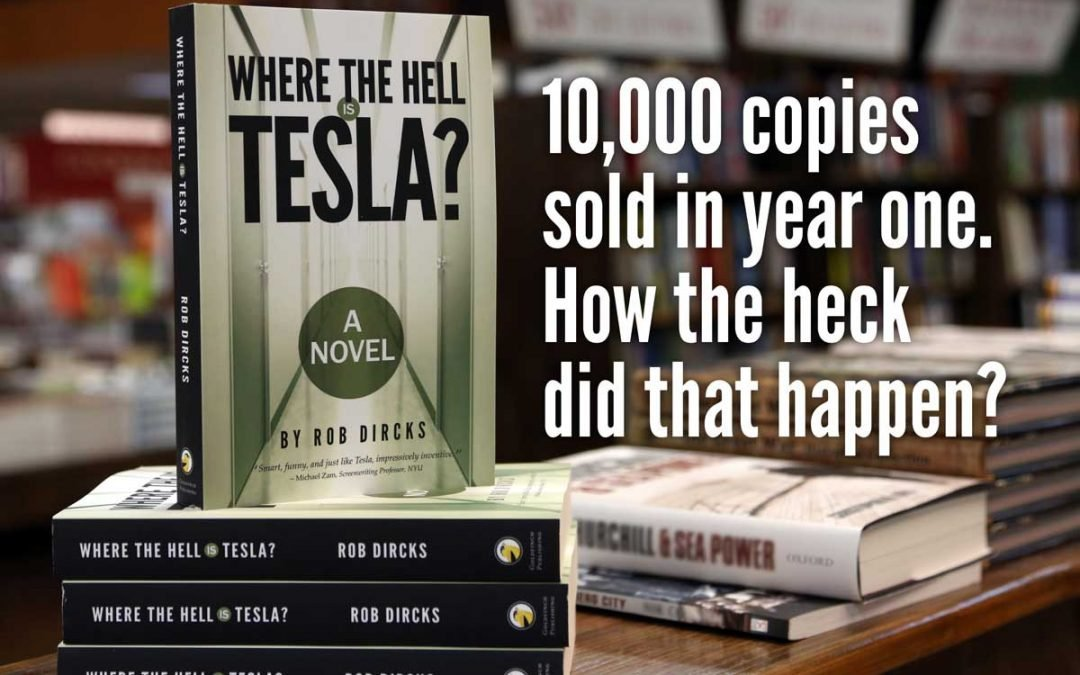 How I sold 10,000 copies in one year (and maybe you can too).