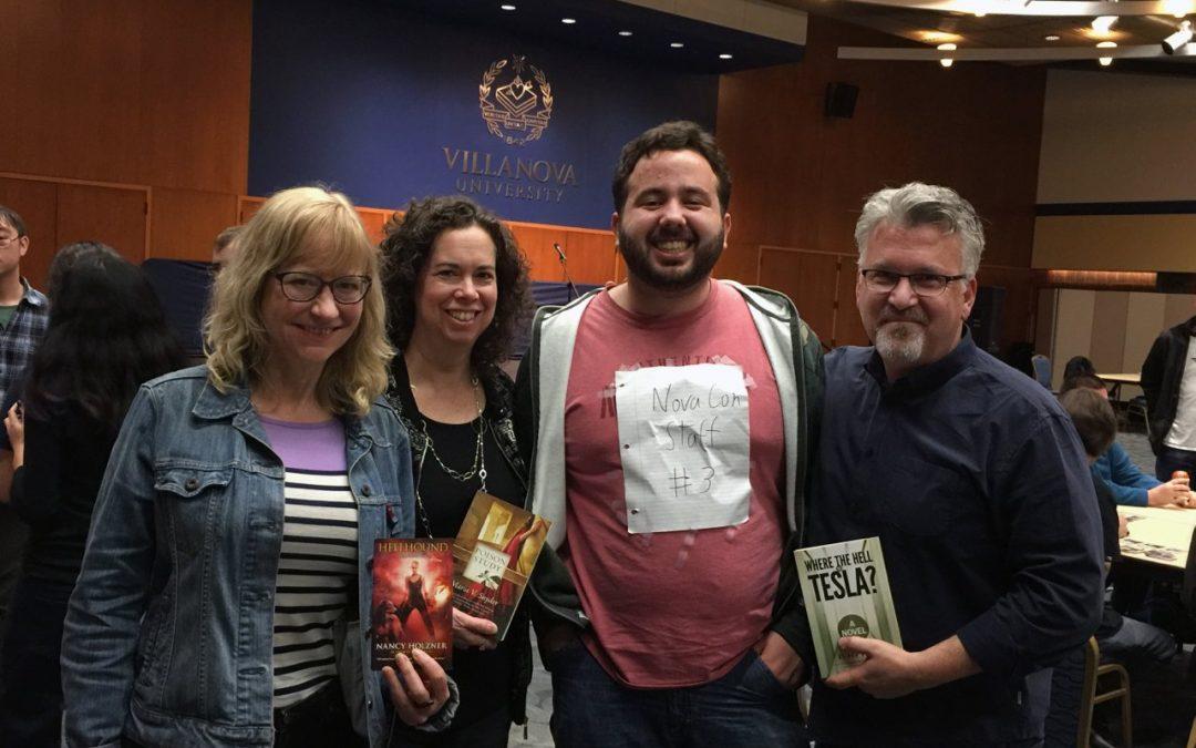 My Authors' Panel at Villanova Comic Con 2017