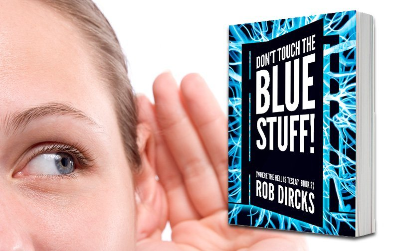 Get a Sneak Listen to the audiobook for Don't Touch the Blue Stuff!